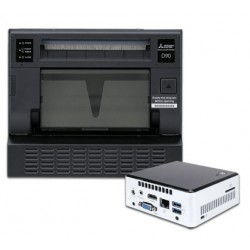 Mitsubishi CP-D90DW and Selfone Wireless Print Server Bundle