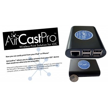 AirCastPro Wireless Print Server