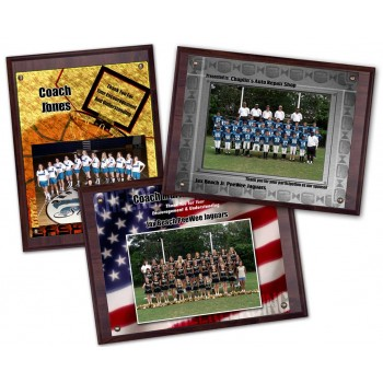 "9""x12"" Photo Plaques - Quantity 16"